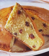 torta all'uvetta