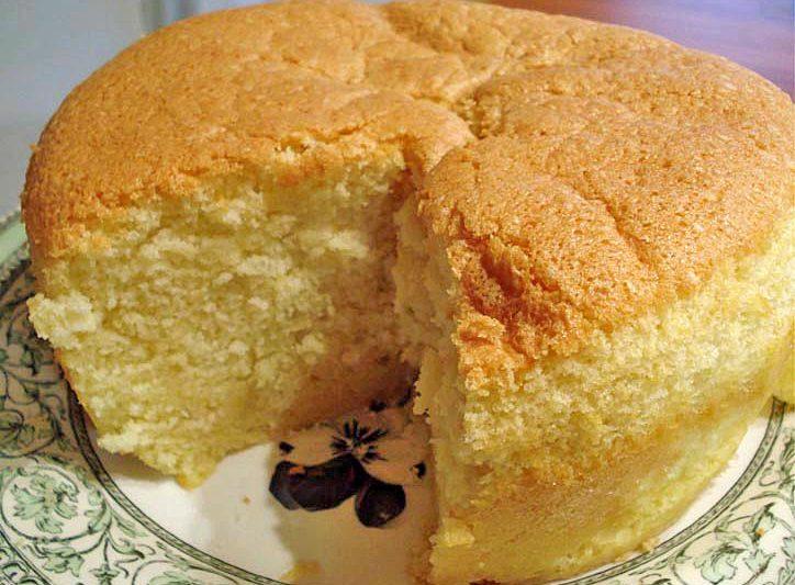 CHIFFON CAKE O ANGEL CAKE