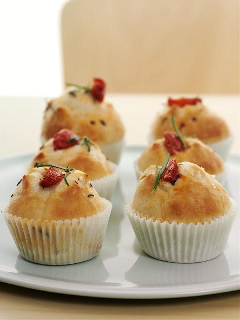 muffin focaccia
