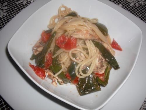 Spaghetti procidana alla Pescatora Povera