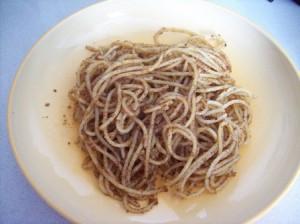 spaghetti aglioolioepangrattato
