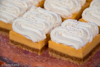 cheesecake con patate dolci